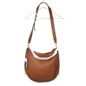 Rebecca Minkoff NWT tan leather shoulder hobo bag